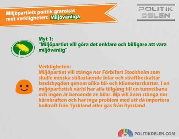 Miljöpartiets myter 1 Miljövänliga