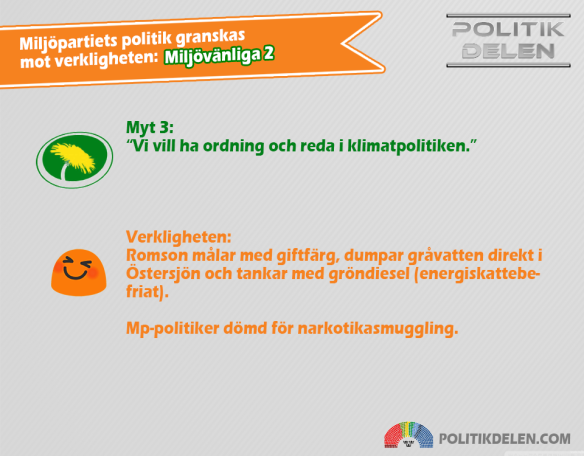 Miljöpartiets myter 3 Miljövänliga 2