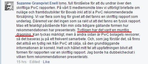 Suzanne Granqvist Enell - PwC Beslutsunderlag 5